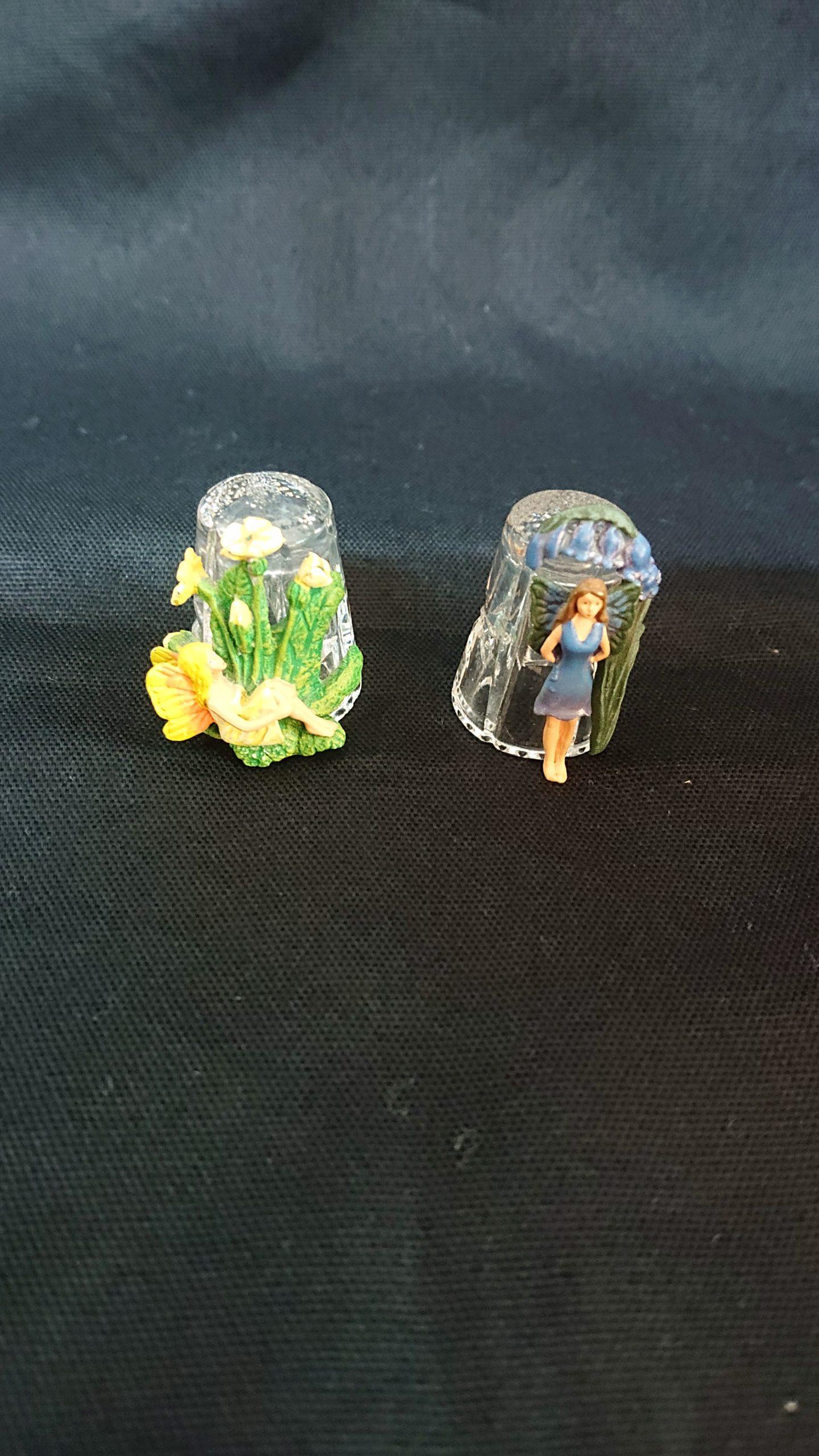 フェアリー ガラス シンブル