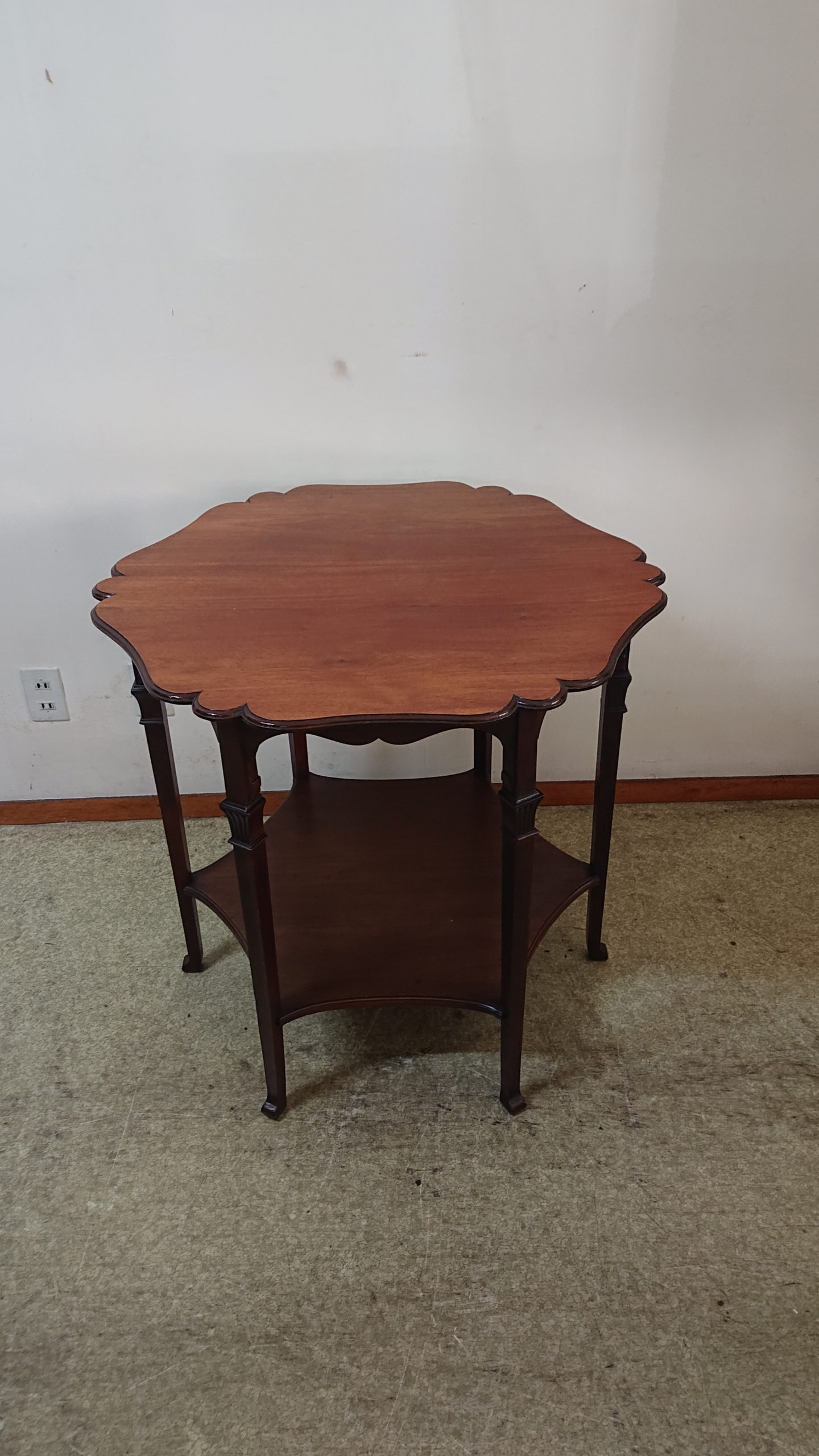 マホガニー材 オケーショナルテーブル