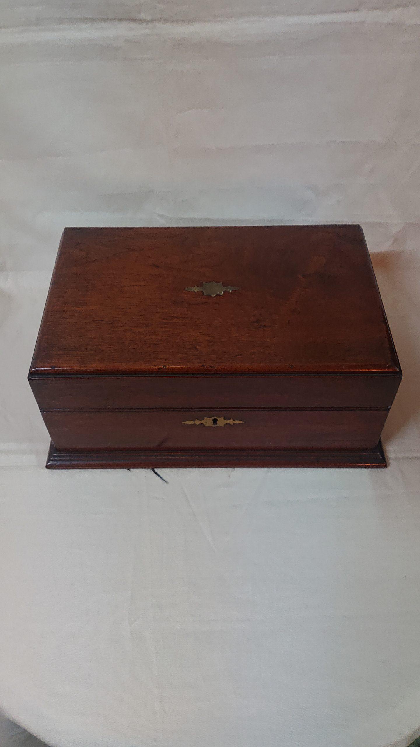 マホガニー材 ボックス