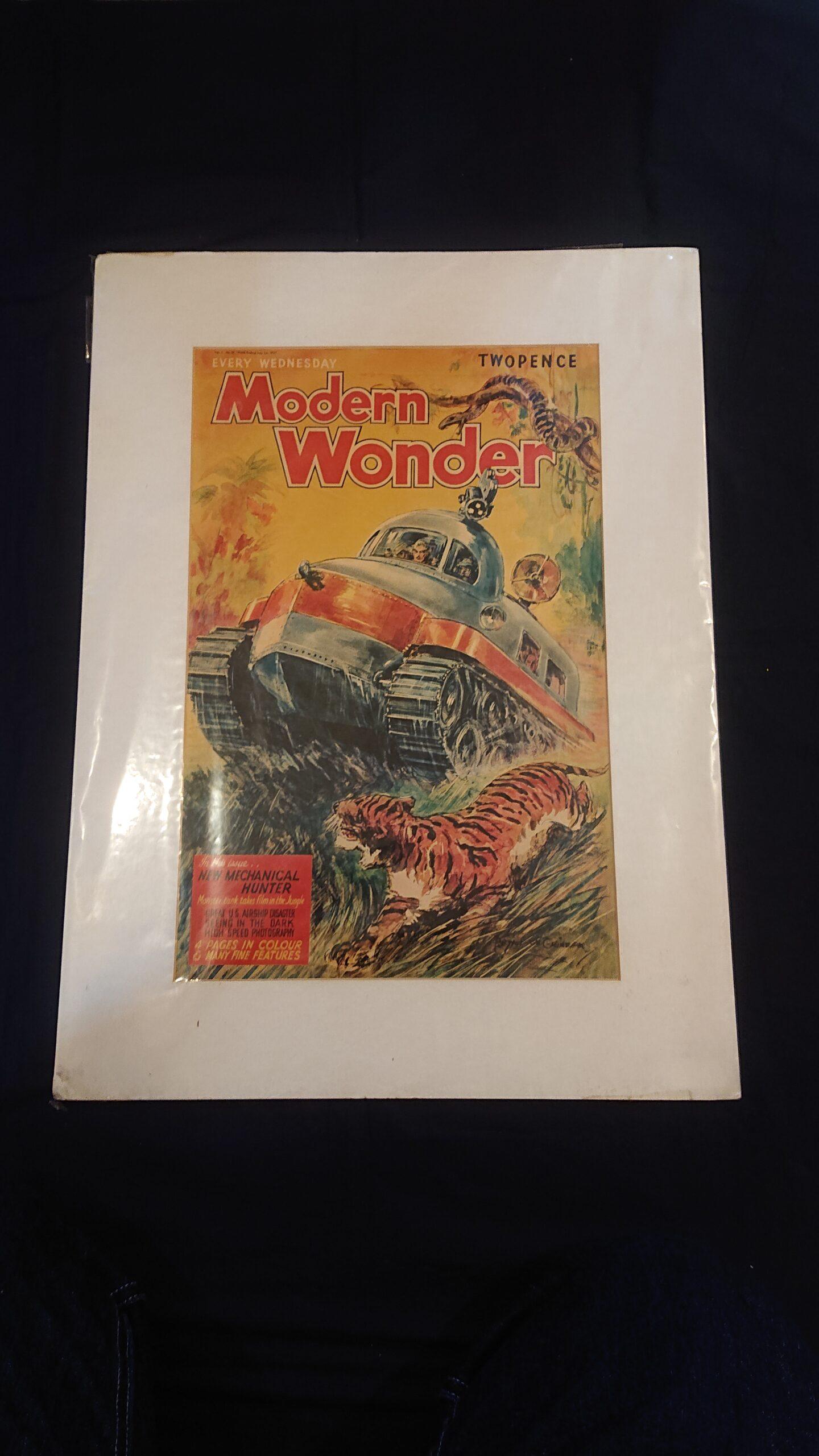 ポスターModerun Wonder