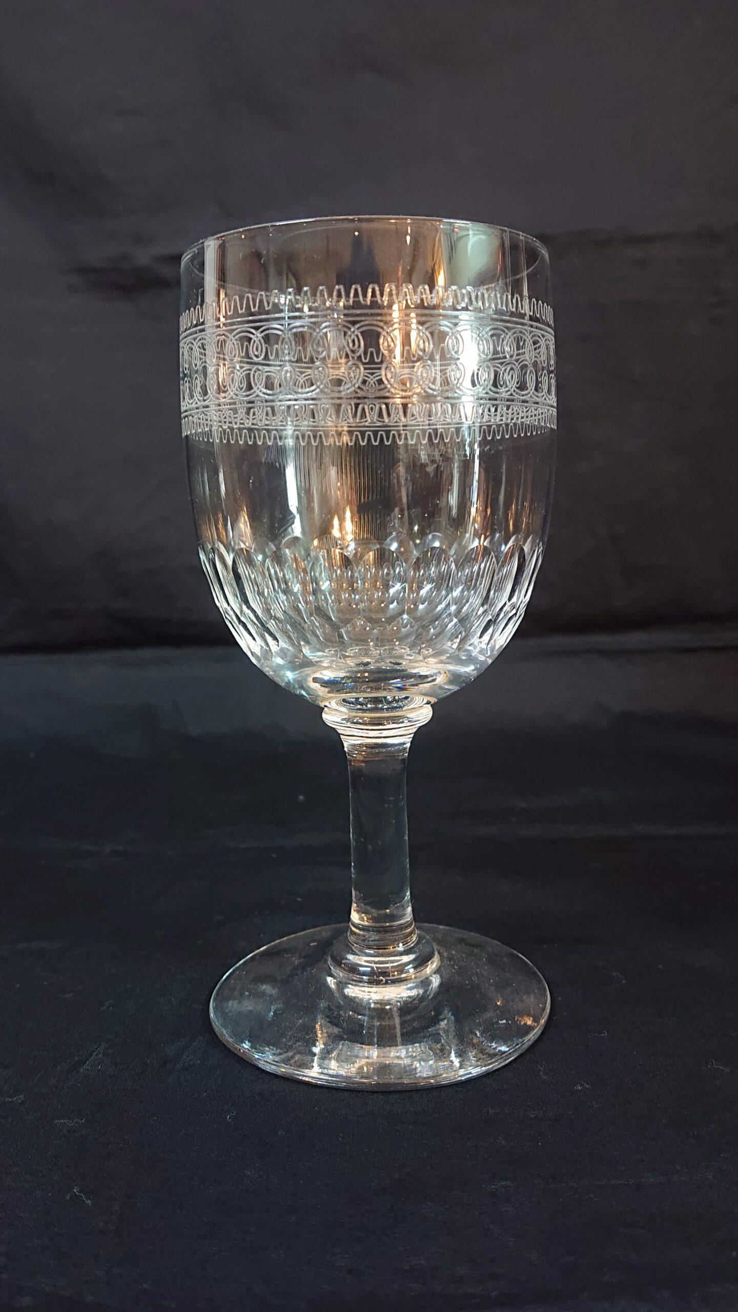 オールドバカラ  赤ワイングラス
