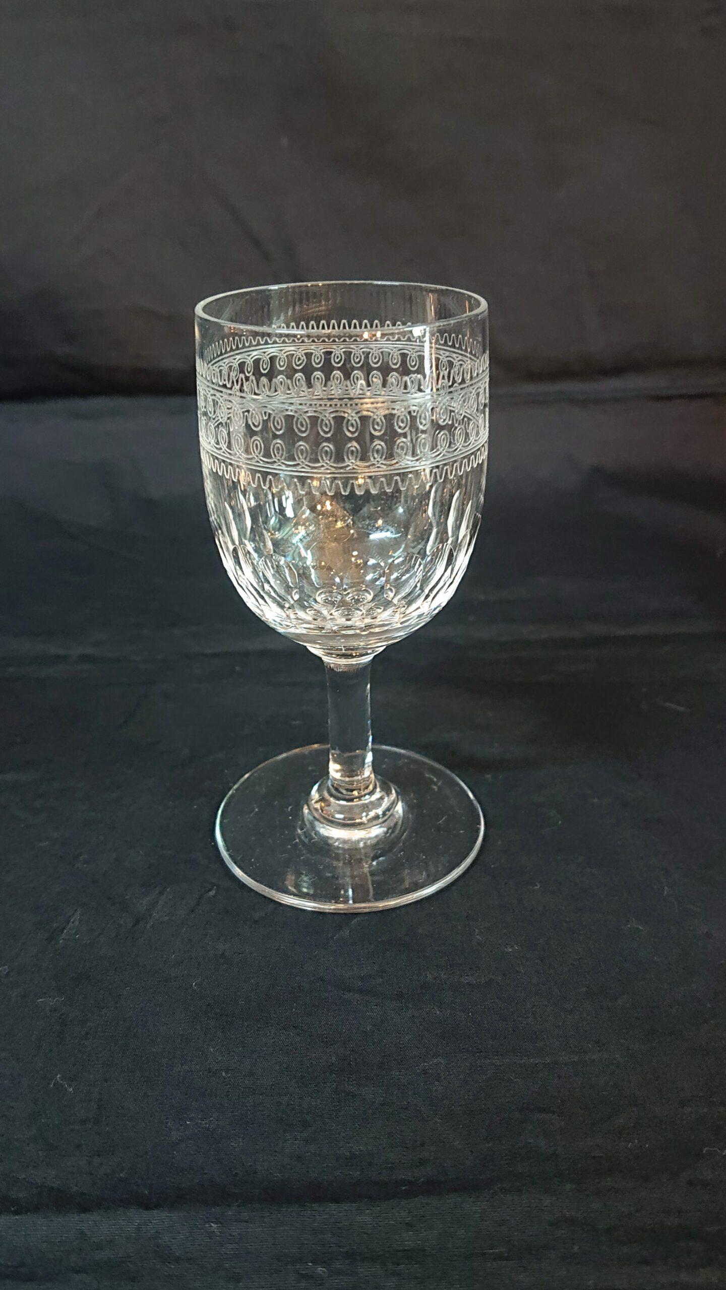 オールドバカラ  白ワイングラス